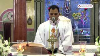 English Mass @ Shrine of Our Lady of Health, Khairtabad, Hyd, Telangana , INDIA  22-08-16.HD