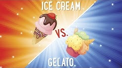 Ice Cream Vs Gelato: What's The Difference? | Food 101 | Well Done