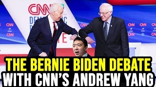 Post Democratic Debate Interview with CNN's Andrew Yang