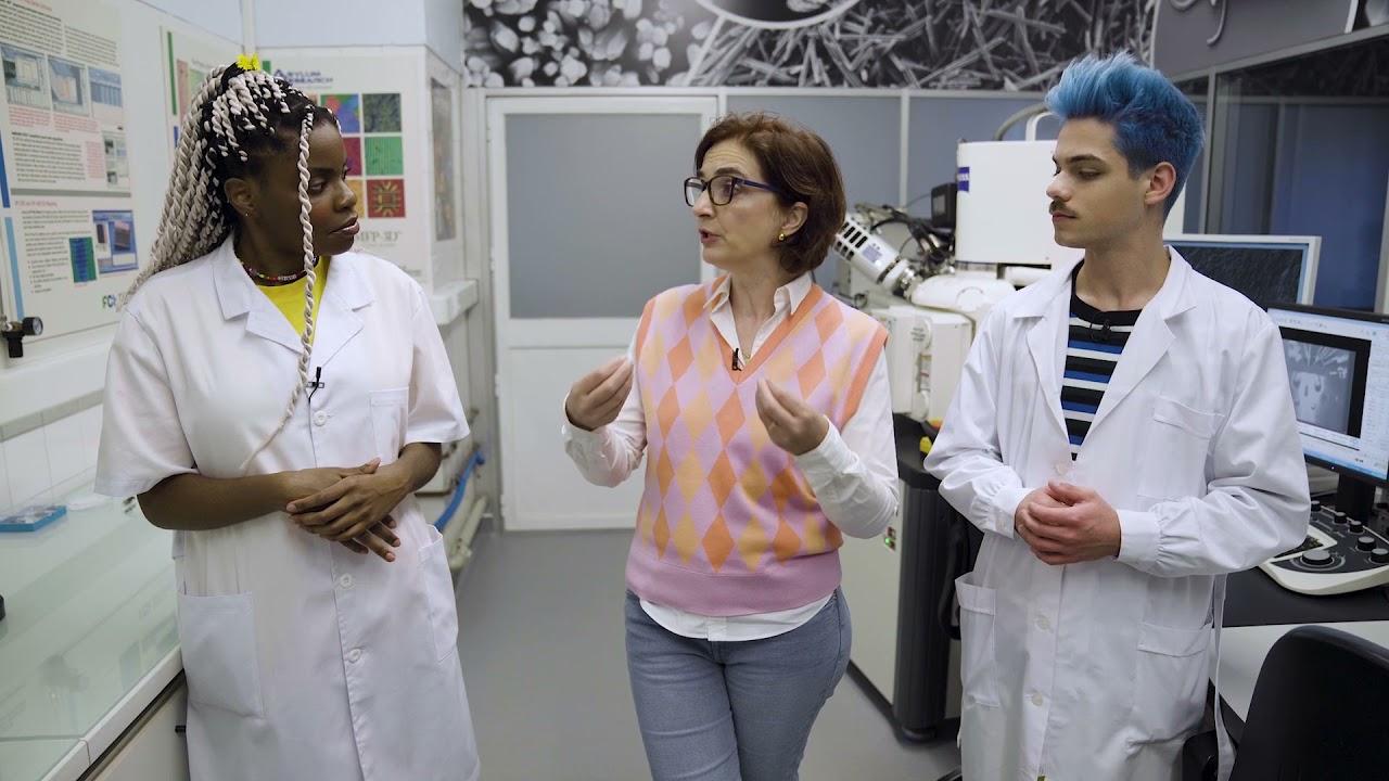 Quando for Grande: Cientista Elvira Fortunato | Covil@ZigZag