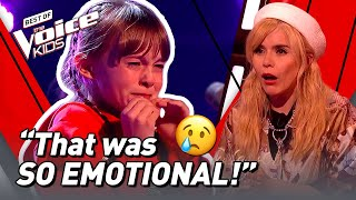 Download Nervous Heidi CRIES during Blind Audition in The Voice Kids UK 2020! 😢