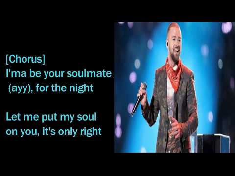 Justin Timberlake -- Soulmate  LYRICS VIDEO || 2018 ||