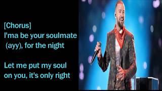 Download Lagu Justin Timberlake -- Soulmate  LYRICS VIDEO || 2018 || Mp3