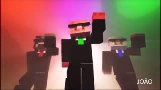 Dance Minecraft #Freestylers  Cracks ft Belle  Humble Flux Pavilion Remix