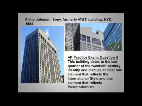 Late 19th 20th And Postmodern Architecture Ap Test Review Youtube
