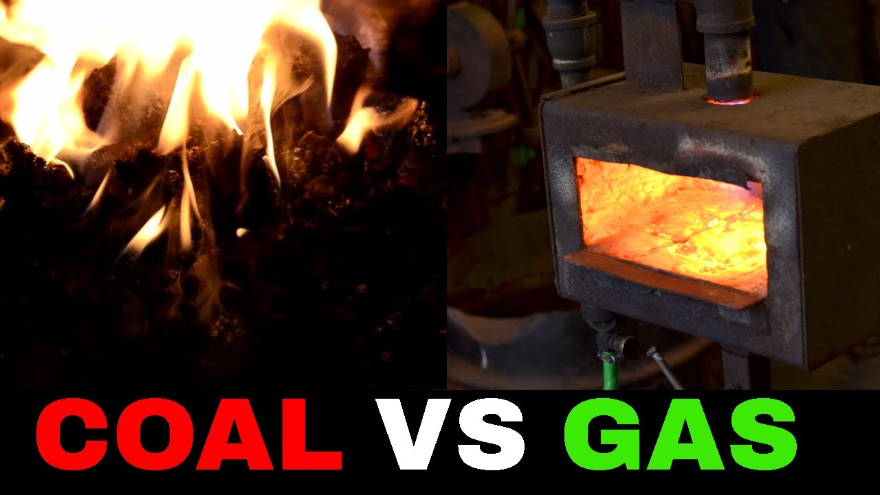 coal forge vs gas forge different types of blacksmith forges youtube. Black Bedroom Furniture Sets. Home Design Ideas