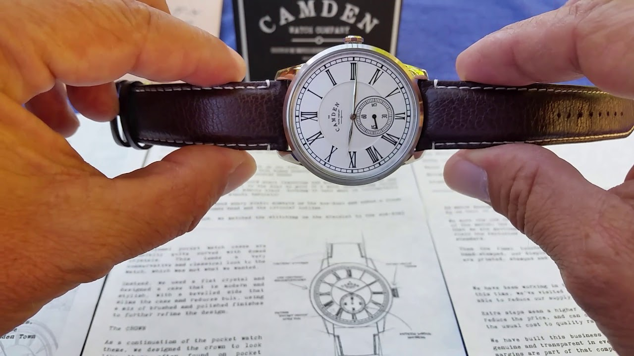 ab3a9fb34 Camden Watch Company No. 29 Review - YouTube