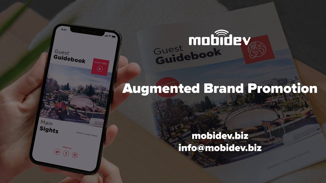 67947bc6591 Augmented Reality for Marketing & Branding - YouTube