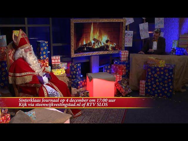 Aankomende vrijdag een nieuwe aflevering van het Sinterklaas Journaal