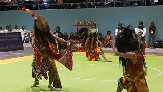 Reog Surabaya HIPREJS Pagelaran GOR Kampus C Unair bersama Airlangga Taruna Budaya