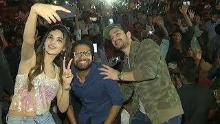 Mr Majnu Team Theatre coverage Akhil akkineni Nidhhi Agerwal NTV