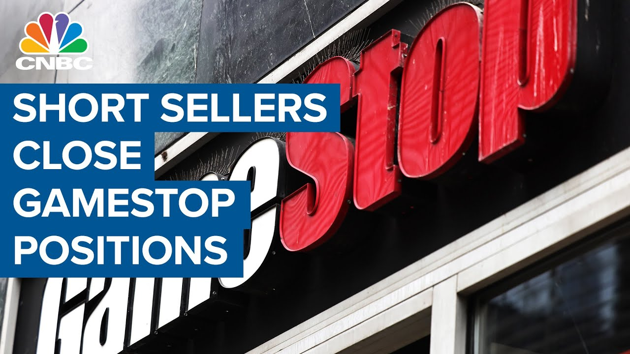 Short sellers close GameStop positions with huge losses