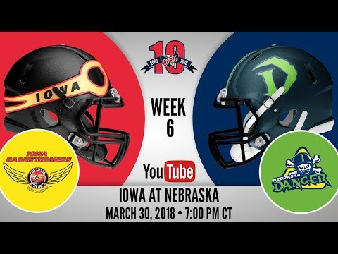 Week 6 | Iowa Barnstormers at Nebraska Danger