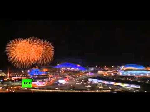 Fireworks Farewell: | Sochi Closing Ceremony | Ends in Spectacular Show [2014]