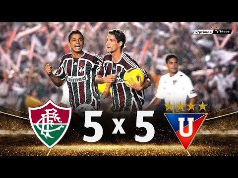 Fluminense 5 (1) x (3) 5 LDU ● Final Libertadores 2008 Extended Highlights & Goals + Penalties HD