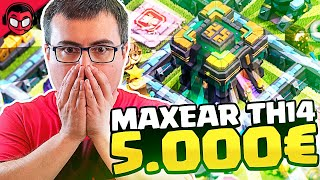 ¡¡GEMEAR EL TH14 CUESTA 5.500 EUROS!! | Clash of Clans
