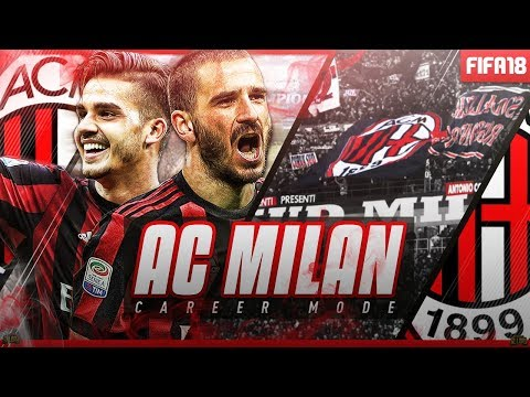 FIFA 18 | AC MILAN CAREER MODE | THE NEW LOOK!!