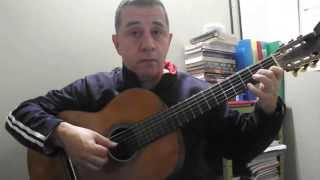 Wagner do Cavaco/Wagner Sayegh - ESTUDO EM MI MENOR (F.TÁRREGA)