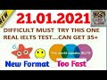 NEW REAL BRITISH COUNCIL | IELTS LISTENING PRACTICE TEST 2021 WITH ANSWERS | 21.01.2021| LISTENING 1