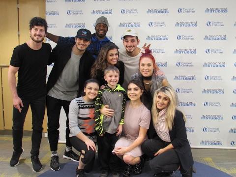 Dancing With The Stars: Live! Visit Patients in Seacrest Studios Cincinnati
