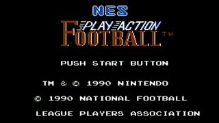 NES Play Action Football - NES Gameplay