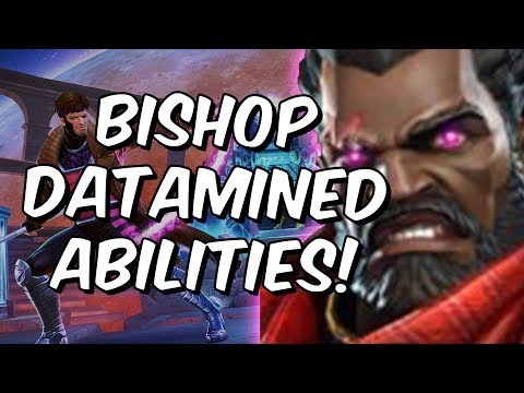 Bishop Abilities Datamined! - Early Overview & Thoughts - Marvel Contest Of Champions