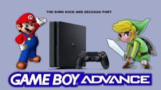 Game Boy Advance Emulator for PS4 (Homebrew)