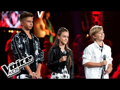"Golicki, Kania, Radzimski - ""Iris"" - Bitwy - The Voice Kids Poland 2"