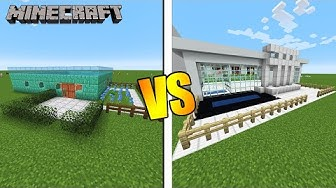 Dania Modernes Haus VS. Kaan Moderne Luxusvilla [Minecraft Build Battle Deutsch]