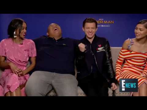 Tom holland funny moments