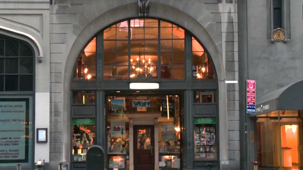 R Nine T >> A Look Back at Rizzoli Bookstore - YouTube