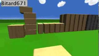 Флеш онлайн игра Строительство из блоков