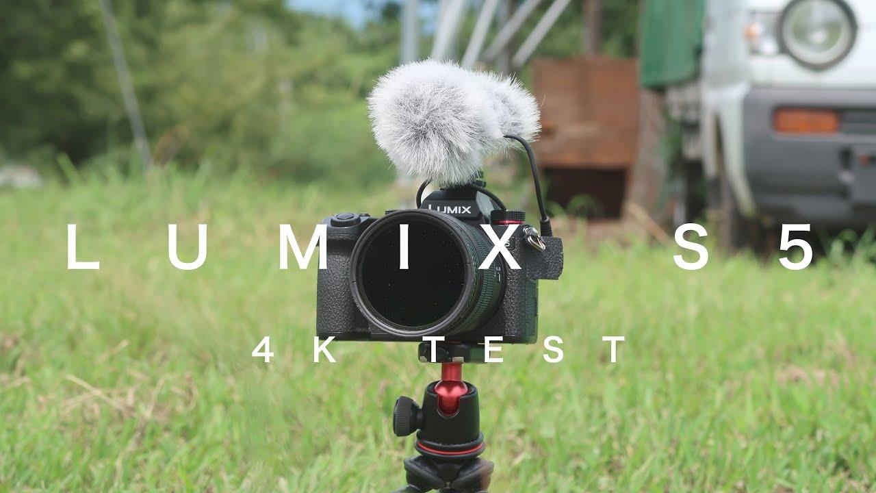 【4K】LUMIX S5 × 20-60mm TEST SHOOTING