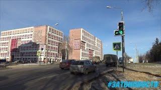 Начало работы светофора на перекрестке Музрукова-Советская
