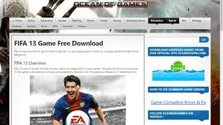 How to download fifa 13 in pc full version