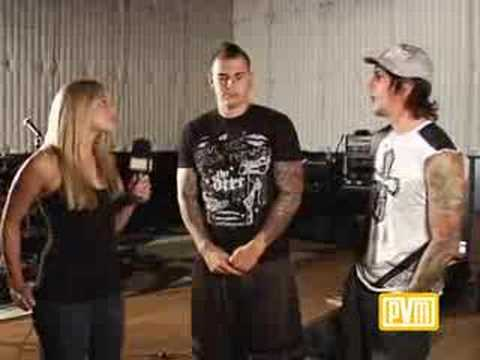 Avenged Sevenfold interview wPVM