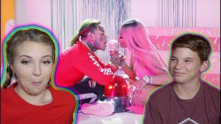 LITTLE BROTHER REACTS TO 'FEFE' - 6ix9ine ft. Nicki Minaj