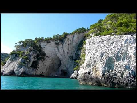 Vieste - visita alle grotte marine del Gargano 07.09.2013