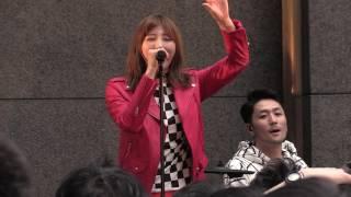 岸野里香(元NMB48)率いる新人バンドOver The Topが4月15日、大阪・な...