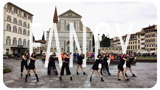 [K-POP IN PUBLIC - ITALY] TWICE - FANCY DANCE COVER ~ [SUNSET 썬셋 CREW]