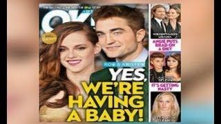 Stewart y Pattinson esperan un bebé