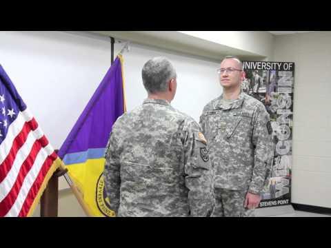 UWSP ROTC Lieutenant Colonel Eric G. Beuerman Promotion Ceremony