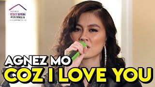 Download AGNEZ MO - COZ I LOVE YOU (LIVE KONSER KEBERSAMAAN #DIRUMAHAJA)