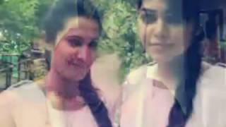 Bangla funny song school Amar valo lage Na female