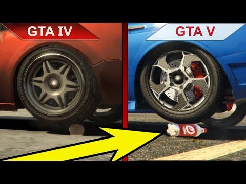 ATTENTION TO DETAILS   GTA IV Vs. GTA V   PC   ULTRA