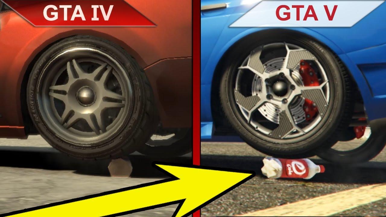 ATTENTION TO DETAILS | GTA IV vs. GTA V | PC | ULTRA