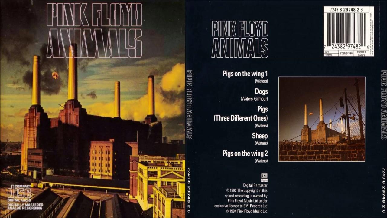 pink floyd animals 1977 youtube