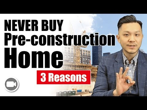 3 Reasons Why I NEVER BUY a Pre-Construction House!!! | Investing 101