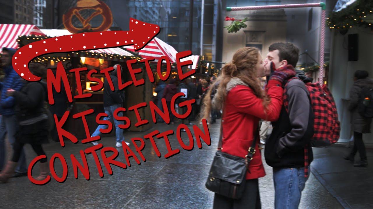 Mistletoe Kissing Contraption Youtube