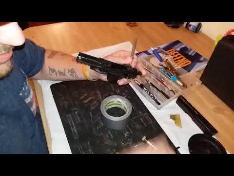 HK P30 frame disassembly